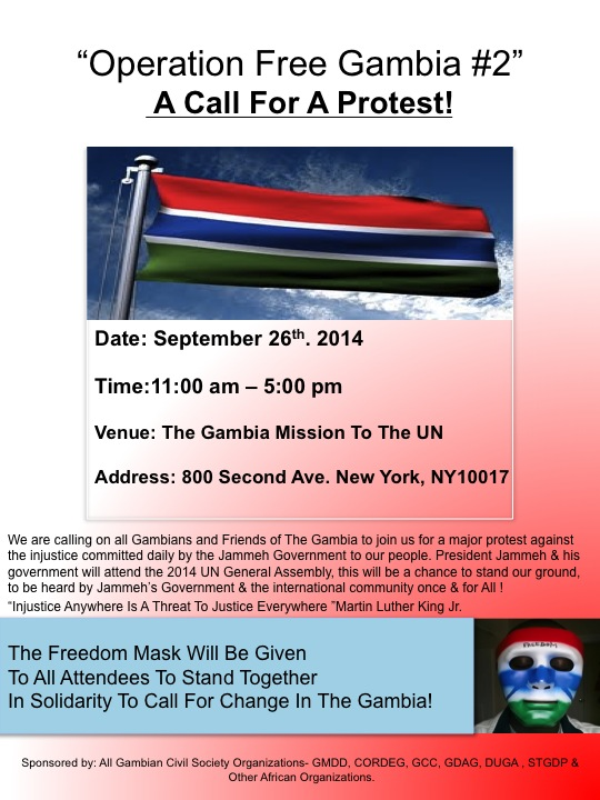 Operation Free Gambia Back