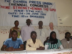 Gambia Press Union Is Sinking
