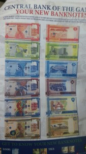 Breaking News: Jammeh's Picture Features In New Gambia Banknotes