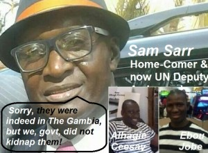 Disgraceful … Mr. Sam Sarr!