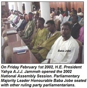 Baba K. Jobe: Father Of APRC Regime