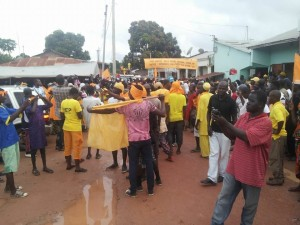 UDP Gunjur Rally: Crowds Chant 'No More Killer President'