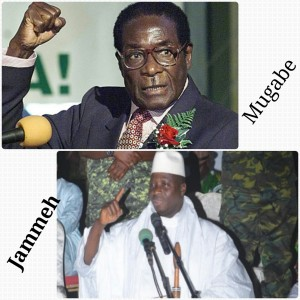 The Chemistry That Binds Jammeh And Mugabe