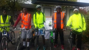 KSA Charity Biking Runs Smoothly