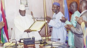 Why Gambian Ministers Compete In Praise Singing Jammeh