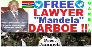 Darboe, Our Mandela