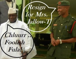 Spit The Tobacco And Tell Us How Jammeh's Fraud Works