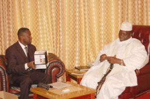 Jammeh Conspiring With Muhammmed Jah To Cleanse Bloody Hands