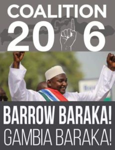 Breaking News: Adama Barrow Wins Gambia's Elections