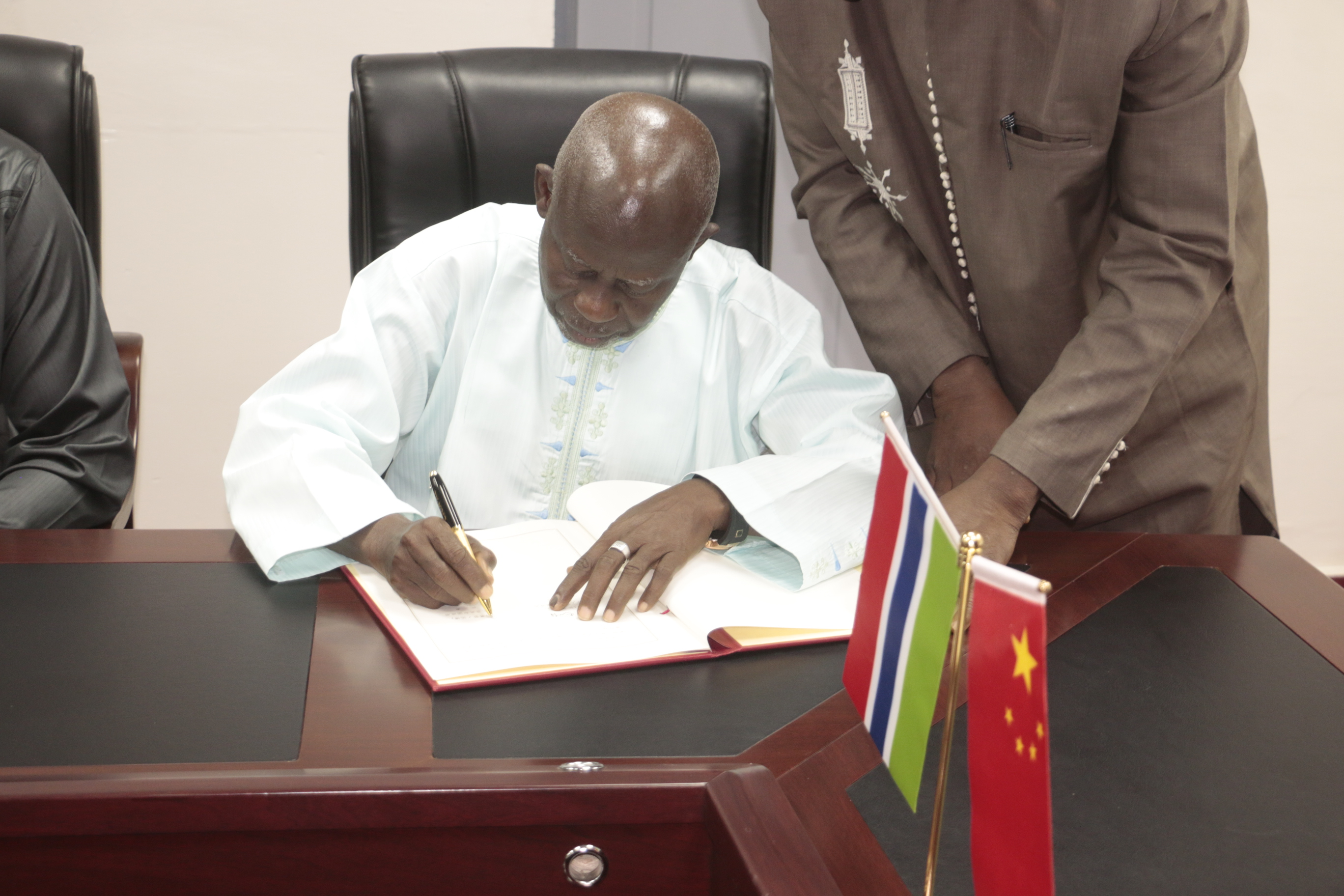 Gambia, China Sign $50 Million Grant
