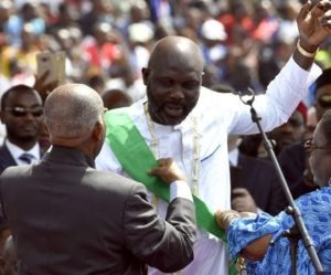 Facing A 'Broke' Country, Liberia's Weah Cuts His Own Salary