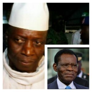 "Dictator Obiang Cannot ""Protect"" Yahya Jammeh From Justice"