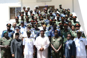 President Barrow Receives Subregional Security Forces