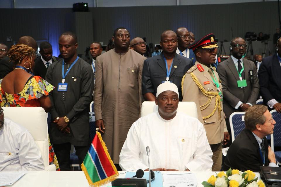 President Barrow Urges ECOWAS To Send Strong Message Against Terrorism
