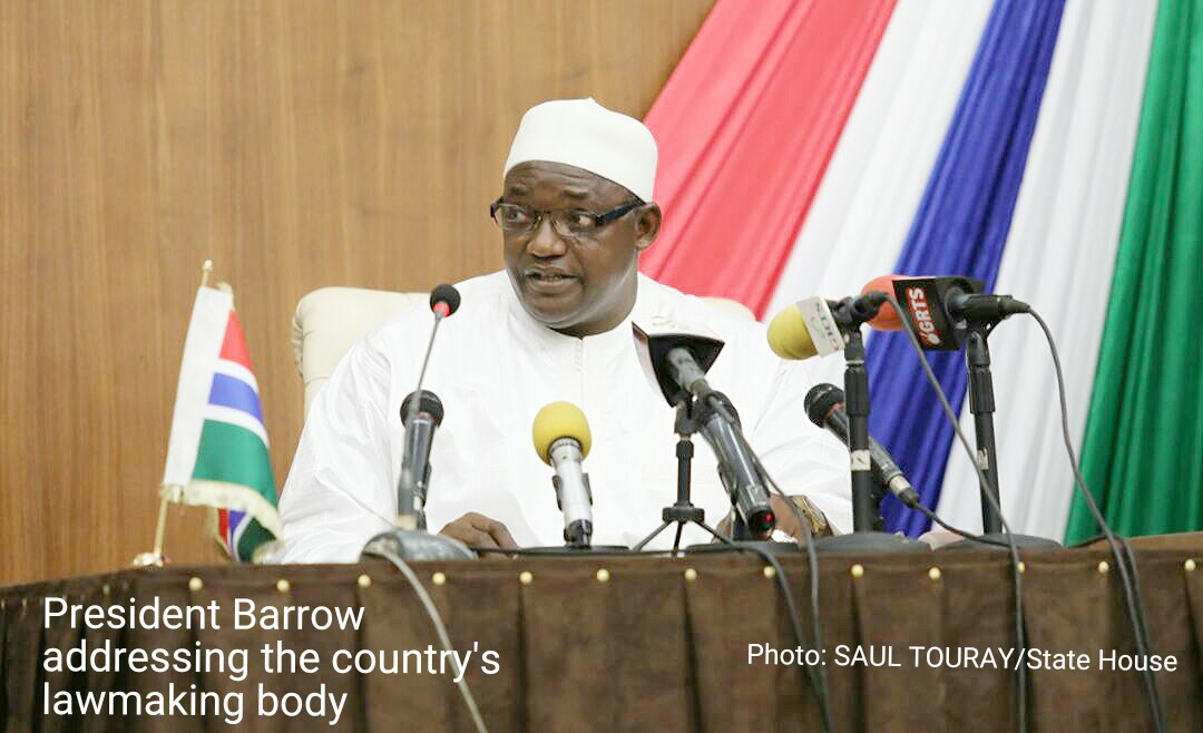 President Barrow's State Of The Nation Address