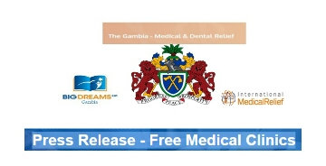 Gambia: Free Medical Clinics On The Way