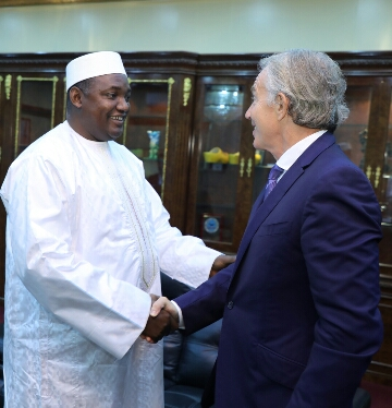 """""""President Barrow Is Clear About His Priorities"""" – Tony Blair"""