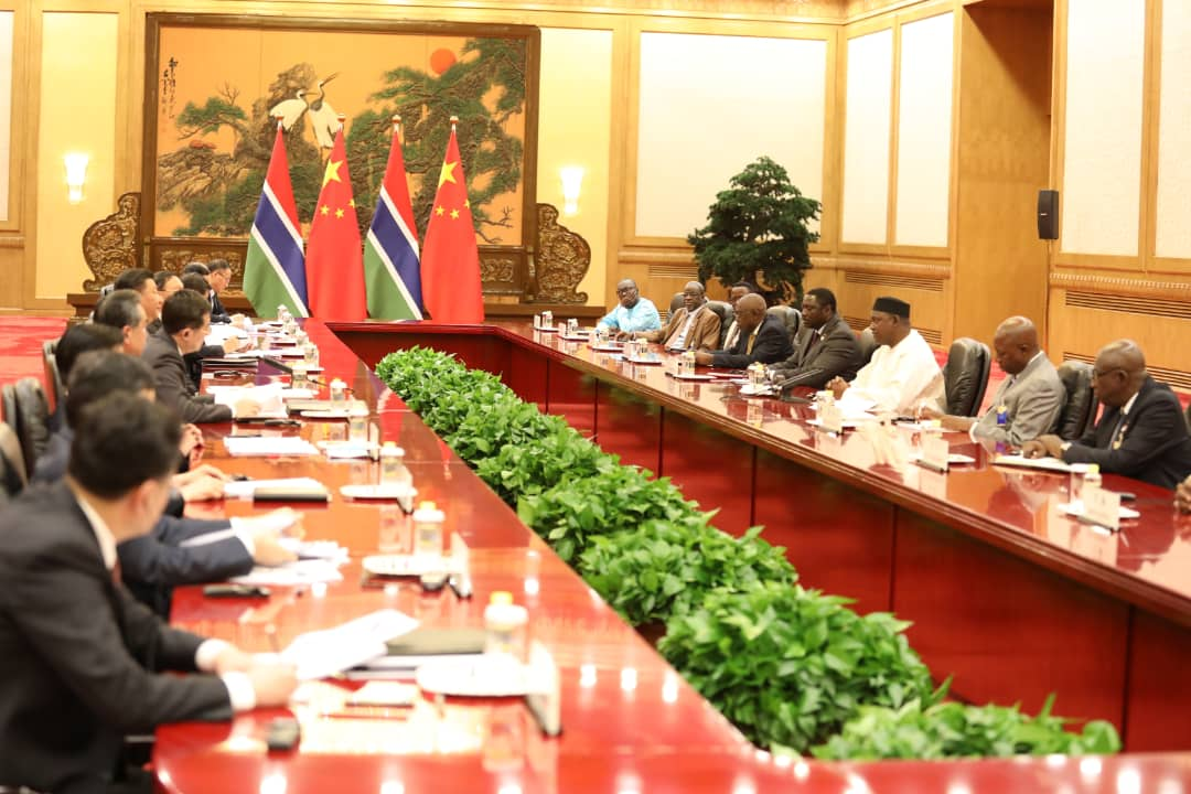 Gambia, China Sign Cooperation Agreements