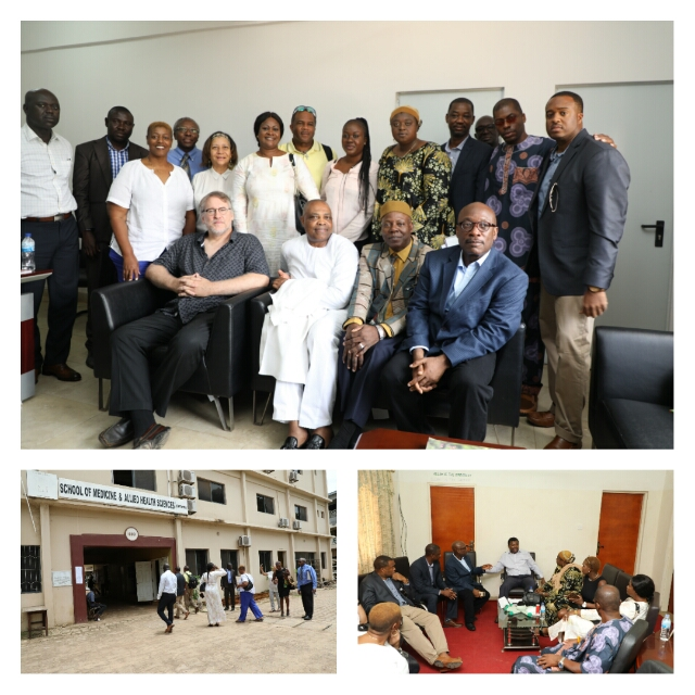 First Lady Leads Fact-finding Team of Medical Consultants To EFSTH