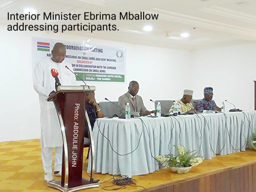 ECOWAS Leads 'Illicit Circulation' Of Arms Fight