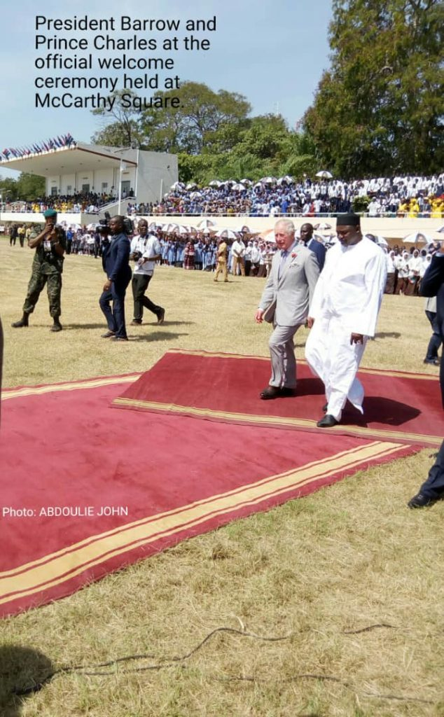 'Prince Charles Visit Shows His Readiness To Support Gambia'