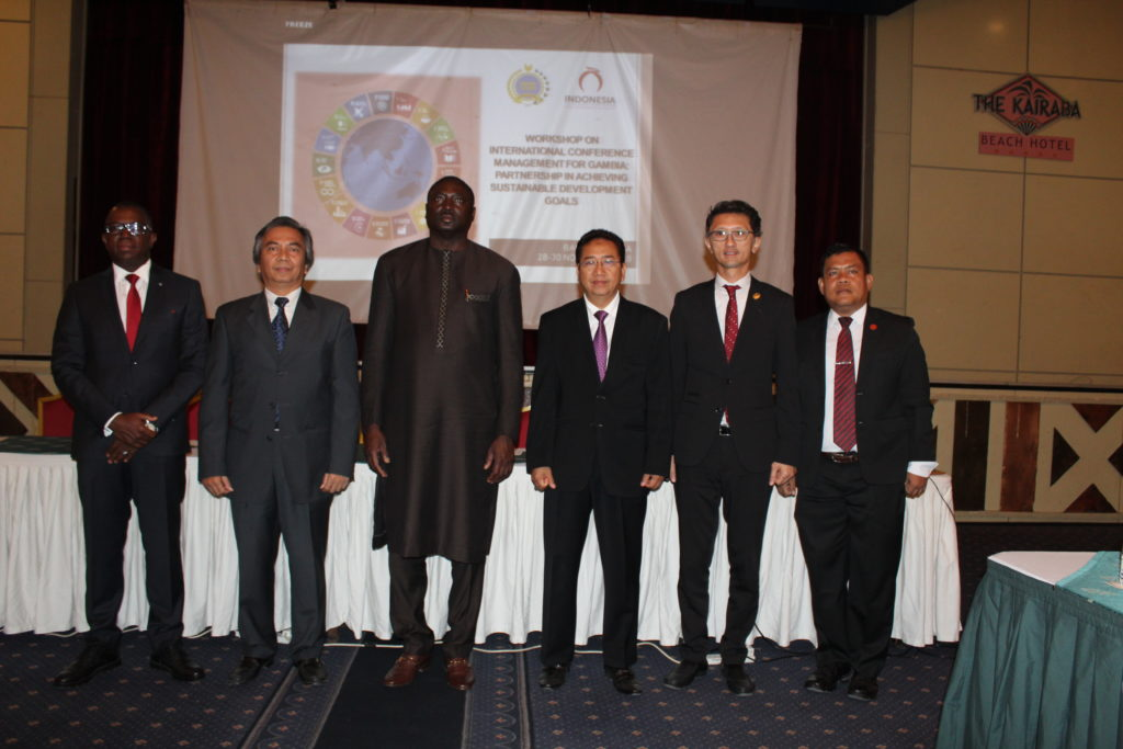 Foreign Minister Tangara Opens Training on International Conference Management