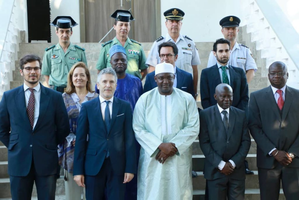 """President Barrow Tells Spanish Minister """"We Must Take Domestic Challenges Into Consideration"""""""