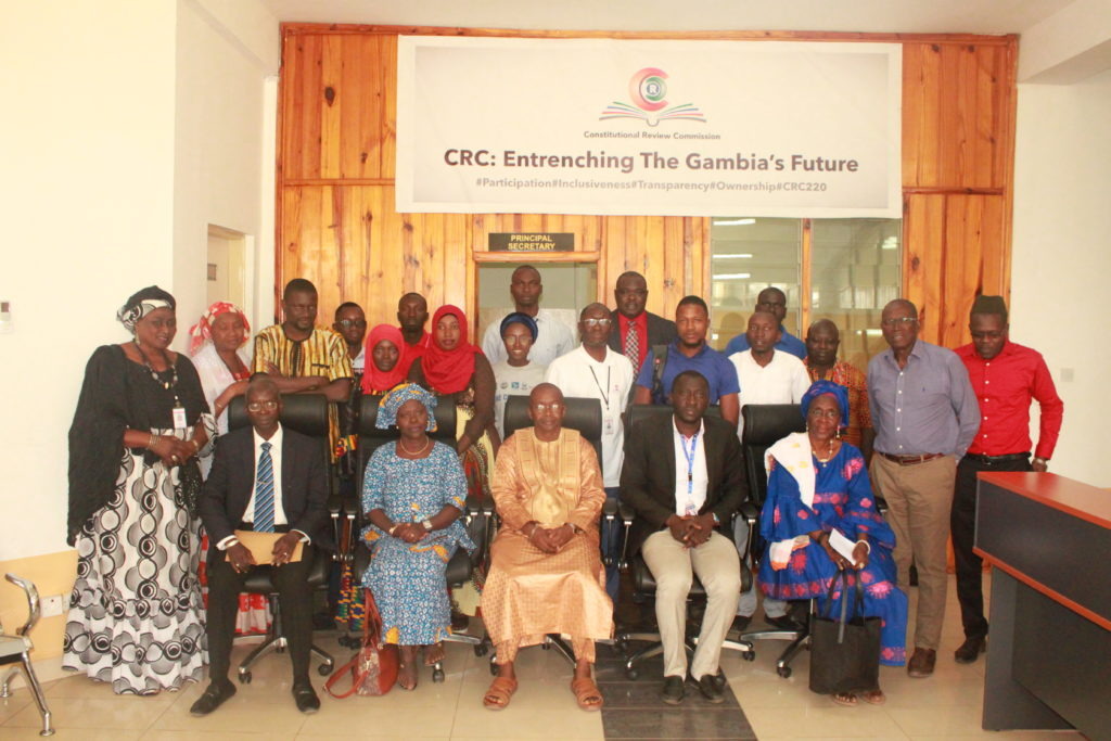 CRC Receives More Position Papers