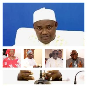 President Barrow Relieves VP, 2 Others