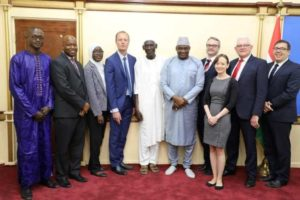 President Barrow Held Audience with a UK Parliamentary Delegation