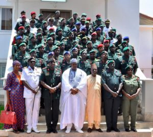 Barrow Vows To Professionalise Gambian Army