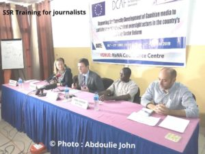 SSR Training For Media Practitioners Kicks-Off