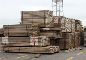 Greenpeace calls on Belgian authorities to block a cargo of African hardwood in the port of Antwerp