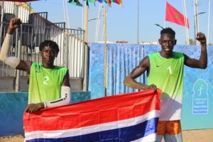 Beach Volleyball honor Gambia with historic first ever gold medal