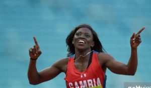 Gambian Sprinter Grabs Olympic Ticket