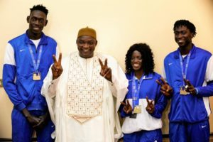 Volleyball Finals Dedicate To Gambian President