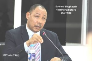 Edward Singhatey and His Missed Opportunity