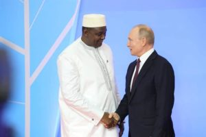 President Barrow Participates in First-ever Russia-Africa Summit