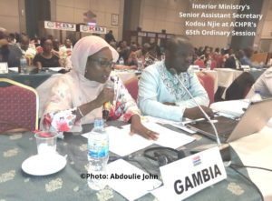 Gambia Scolded Over Public Order Act