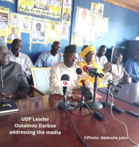 UDP's Position On Coalition 2016