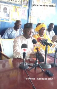 Darboe Blows The Whistle On Barrow
