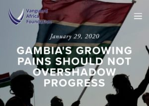 Gambia's Growing Pains Should Not Overshadow Its Remarkable Progress