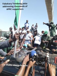 APRC Protest For Jammeh's Return