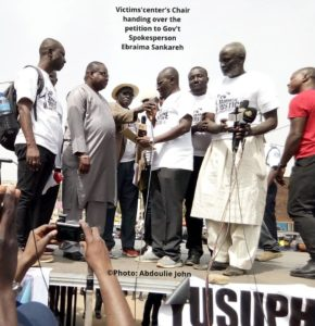 Jammeh's Victims Take To The Streets