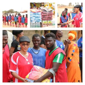 First Lady Makes Surprise Visit to Physically-challenged Exhibition Match