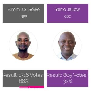 NPP Conquers Gambia By-elections